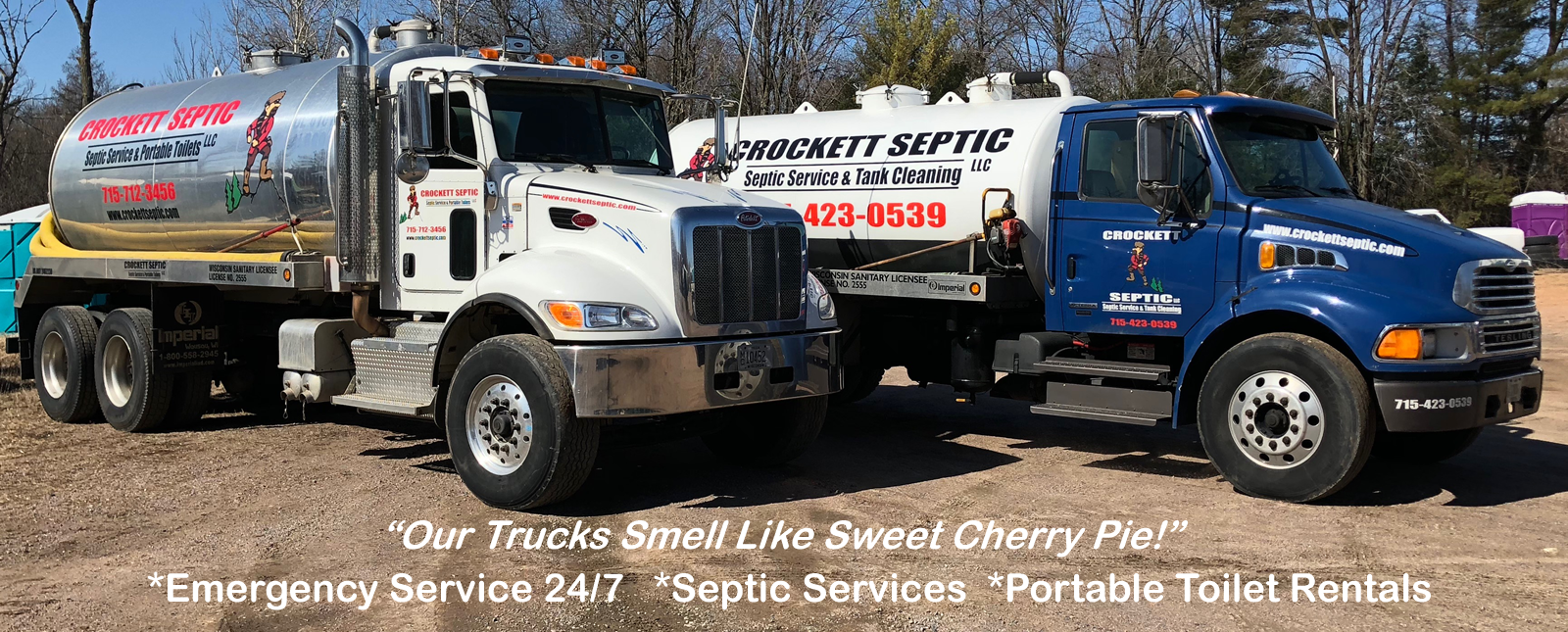 Crocket Septic Trucks